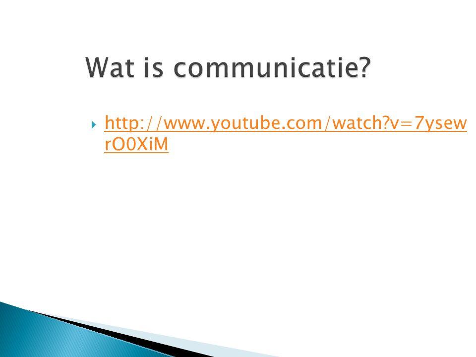 5.Tegenstrijdigheden in de communicatie Verbale en non-verbale communicatie.