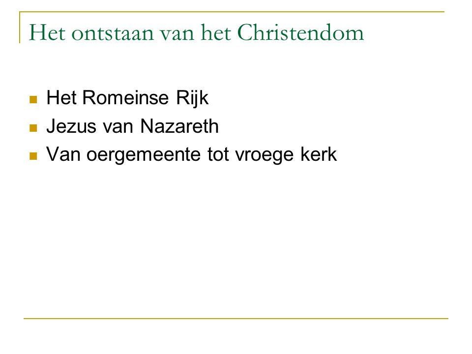 Triniteitsleer Afwijkende christologie:  Arianen (Germanen, Gothen)  Antitrinitatiërs (Servet)  Jehova-getuigen  Islam