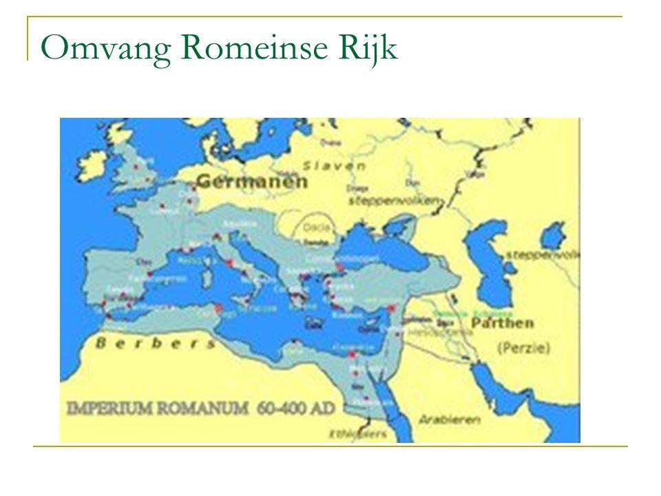 Omvang Romeinse Rijk