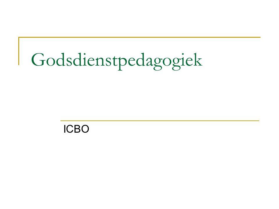 Godsdienstpedagogiek ICBO