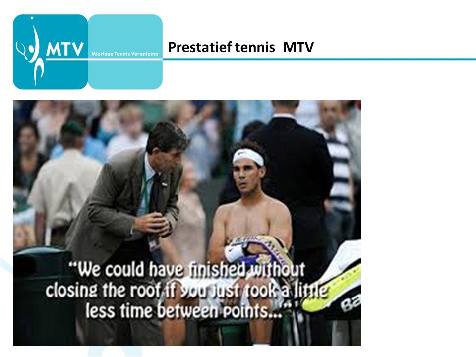 Prestatief tennis MTV