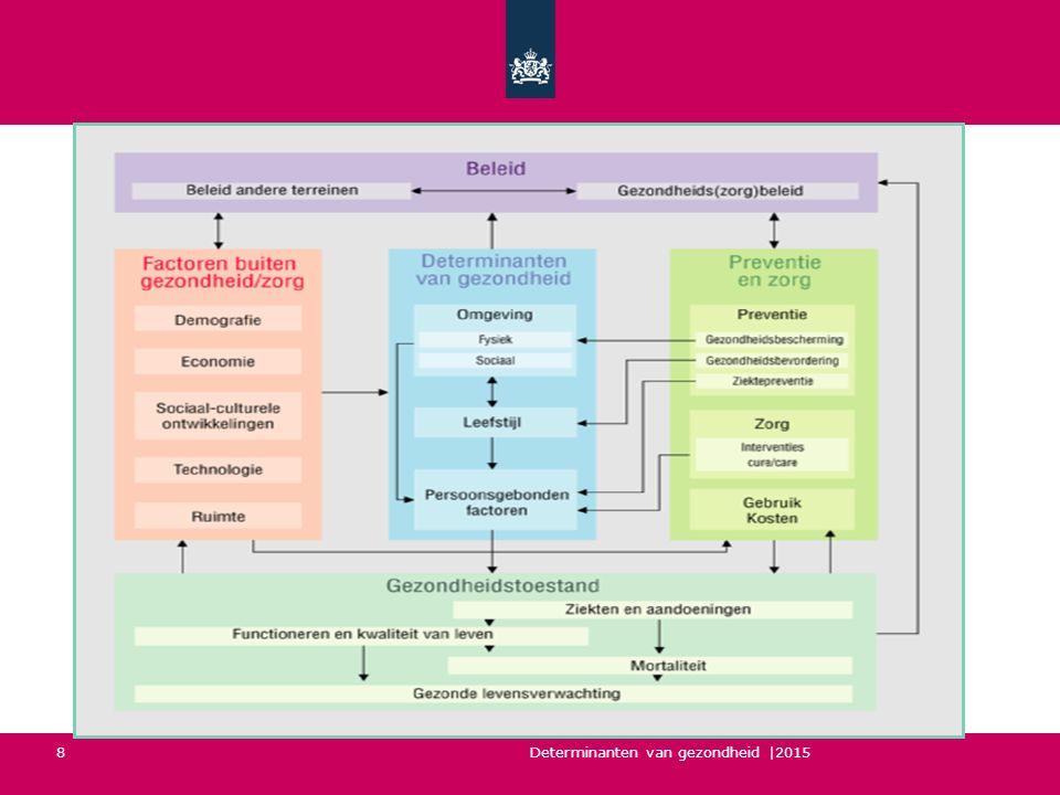 Determinanten van gezondheid |2015 8 VTV-model als uitgangspunt