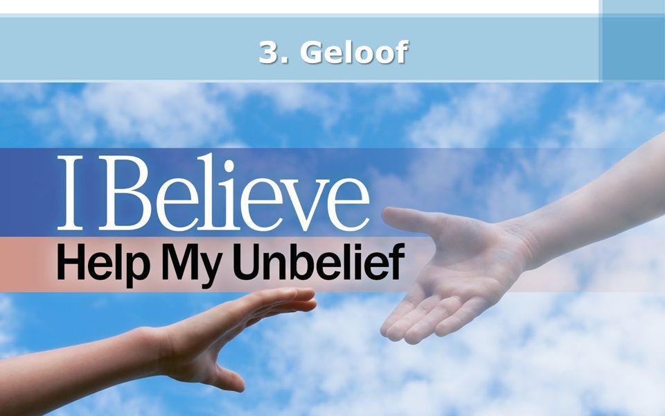 3. Geloof 31