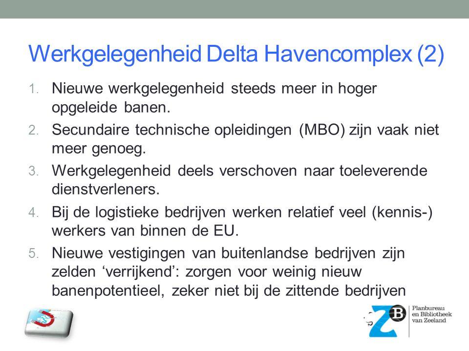 Werkgelegenheid Delta Havencomplex (2) 1.