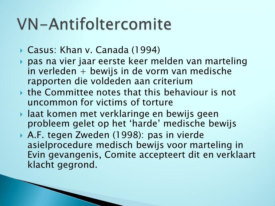  Na 2000 striktere lijn  Aanzienlijk aantal zaken waarin Comite niets zegt over gepresenteerd medisch bewijs (S.P.A.