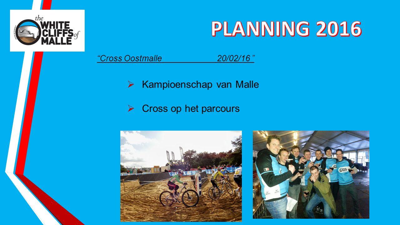 Cross Oostmalle20/02/16  Kampioenschap van Malle  Cross op het parcours