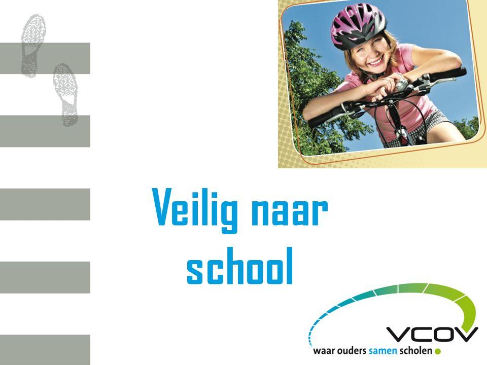 W EDSTRIJD V EILIG NAAR SCHOOL Vrije basisschool Crombeen uit Gent Verkeersveiligheid prioriteit