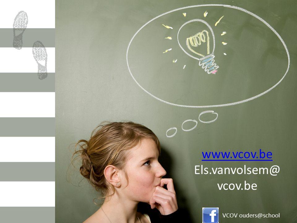 www.vcov.be Els.vanvolsem@ vcov.be VCOV ouders@school
