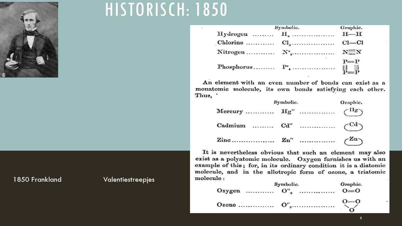 HISTORISCH: 1850 1850 FranklandValentiestreepjes 6