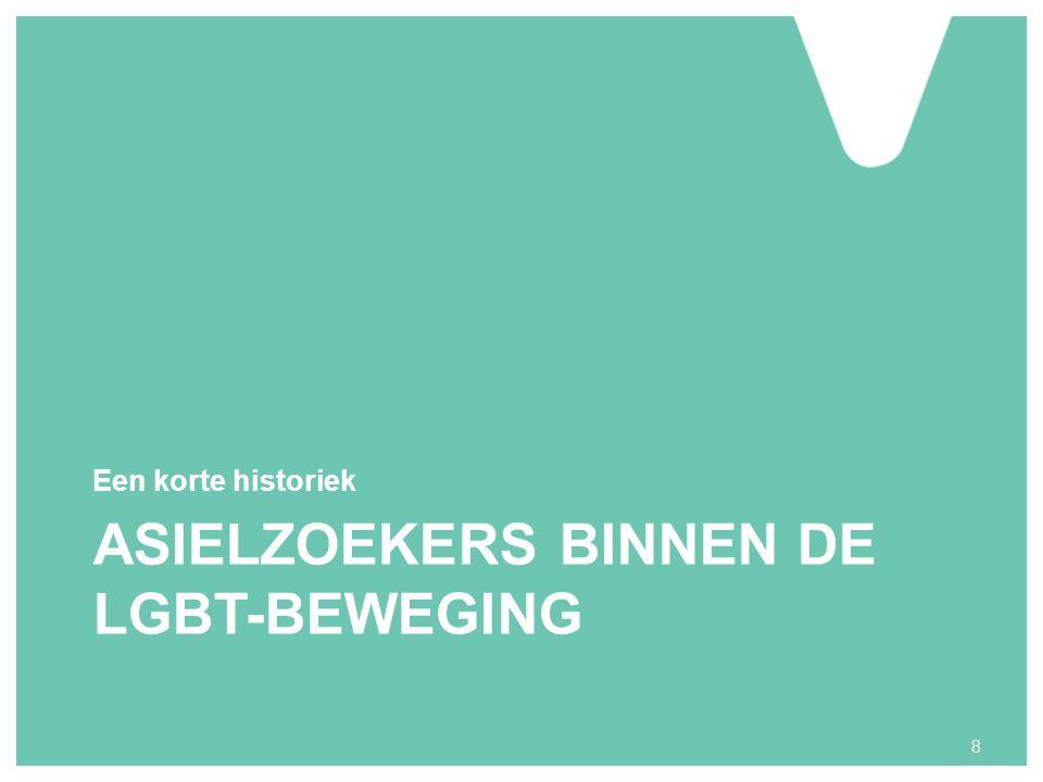 ASIELZOEKERS BINNEN DE LGBT-BEWEGING Een korte historiek 8