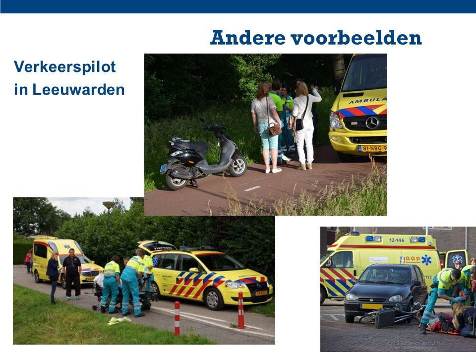 Geweld en Innovatie 16 nov. 201520 Andere voorbeelden Verkeerspilot in Leeuwarden