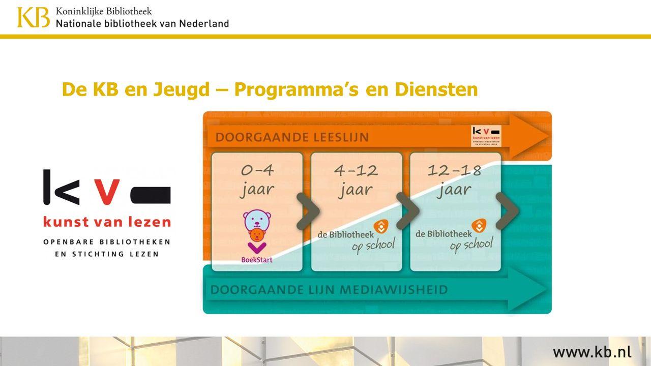 De KB en Jeugd – Programma's en Diensten