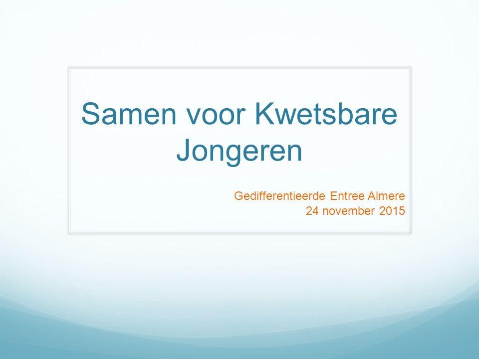 Samen voor Kwetsbare Jongeren Gedifferentieerde Entree Almere 24 november 2015