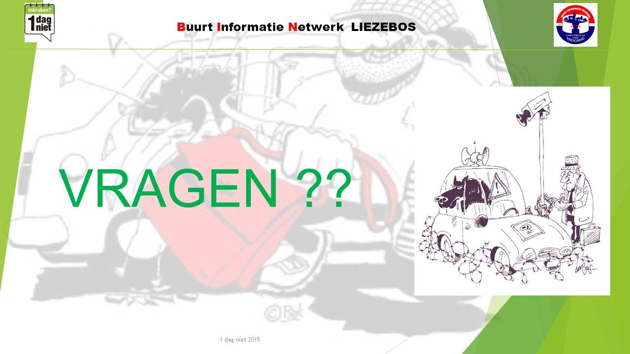 1 dag niet 2015 Buurt Informatie Netwerk LIEZEBOS VRAGEN