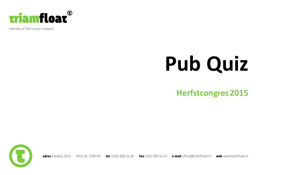 Pub Quiz Herfstcongres 2015