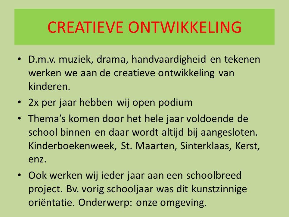 CREATIEVE ONTWIKKELING D.m.v.