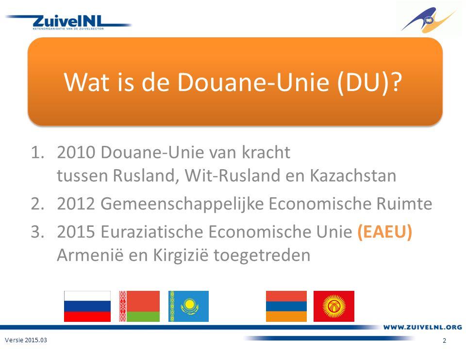Wat is de Douane-Unie (DU).