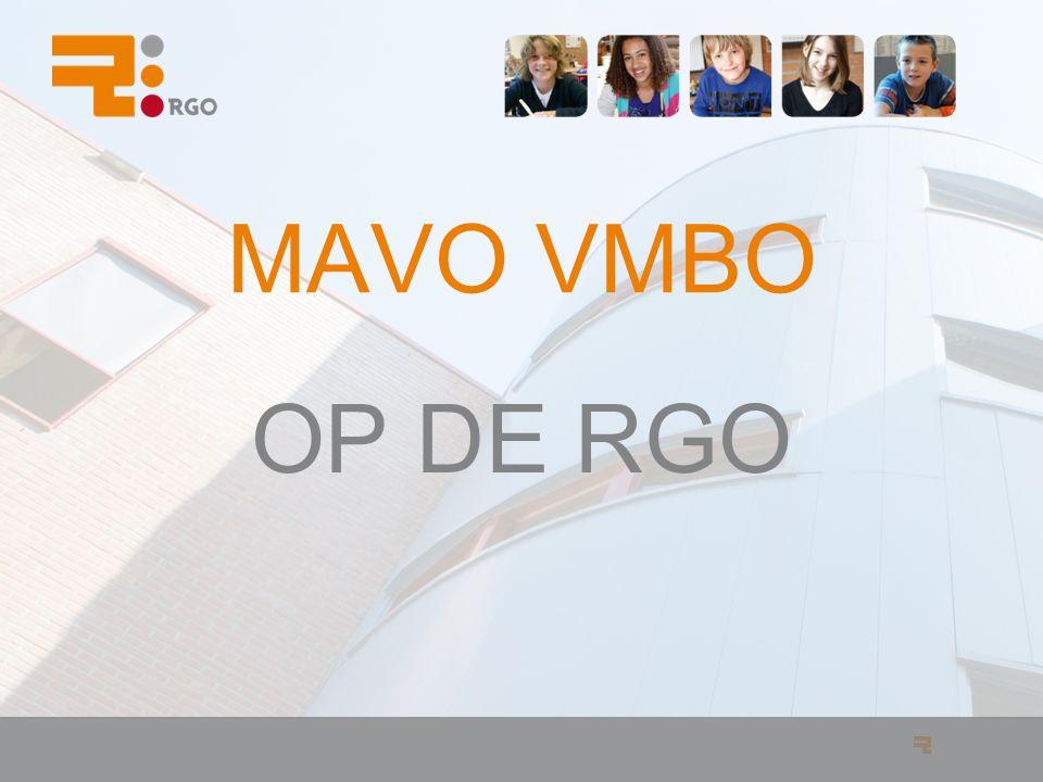 MAVO VMBO OP DE RGO