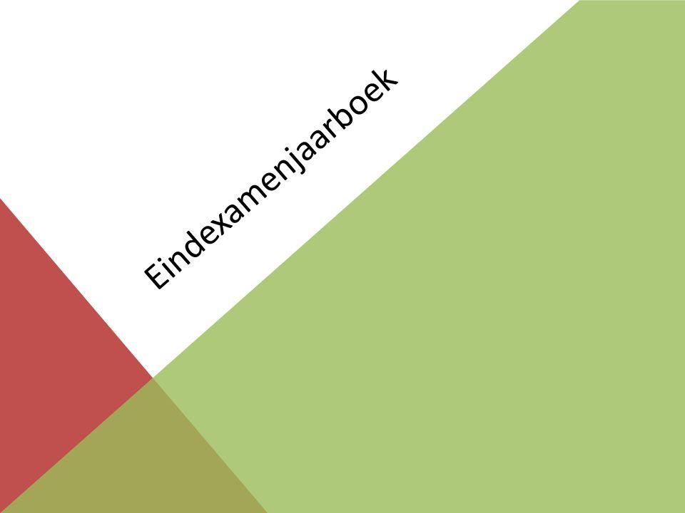 Eindexamenjaarboek