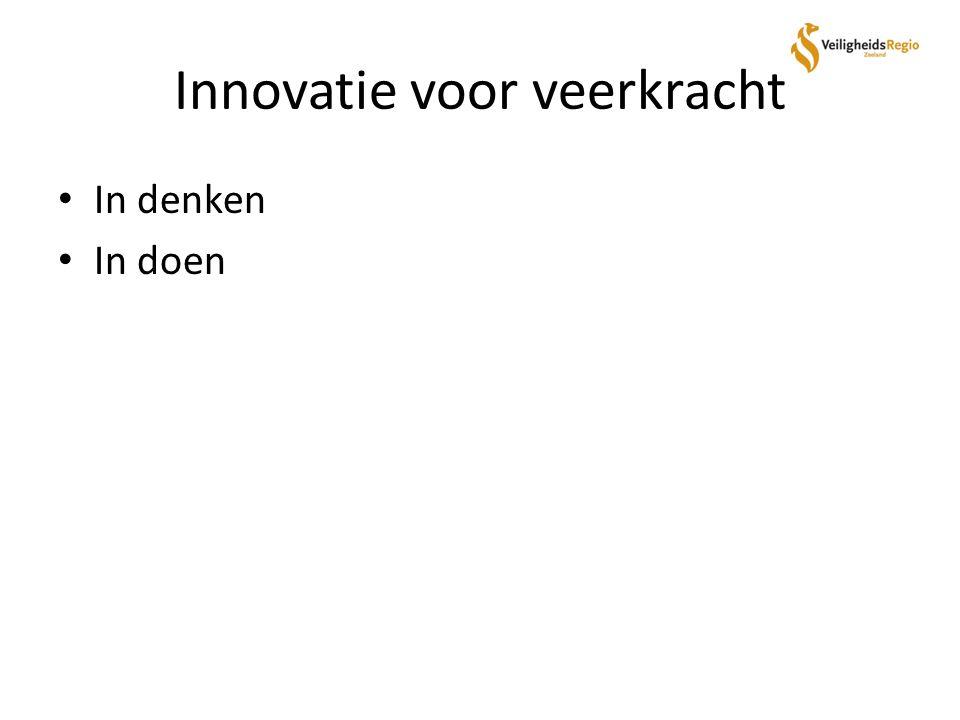 Innovatie voor veerkracht In denken In doen