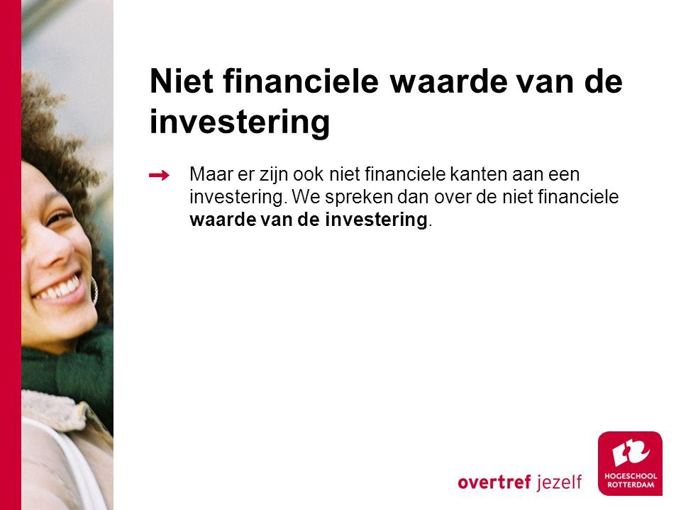 Rendement Voordelen Kostenbesparing Meer omzet Meer winst Concurrentievoordeel Kortere time to market Onderhandelingspositie t.o.v. leveranciers verbe