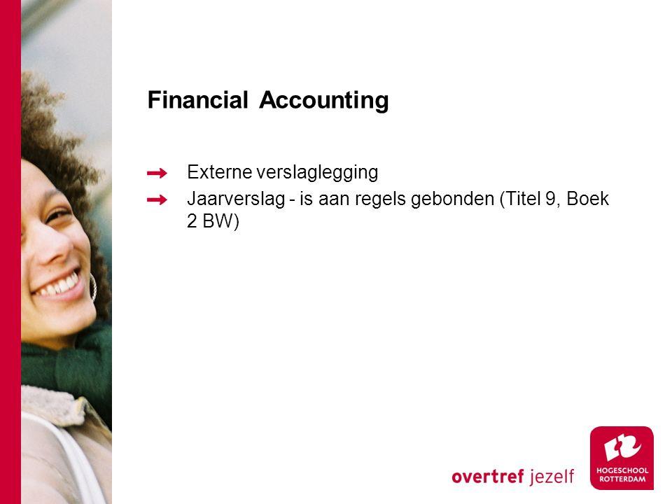 Management accounting Kostencalculaties – kostprijsbepaling en winstbepaling Beslissingscalculaties – relevante informatie over kosten en opbrengsten
