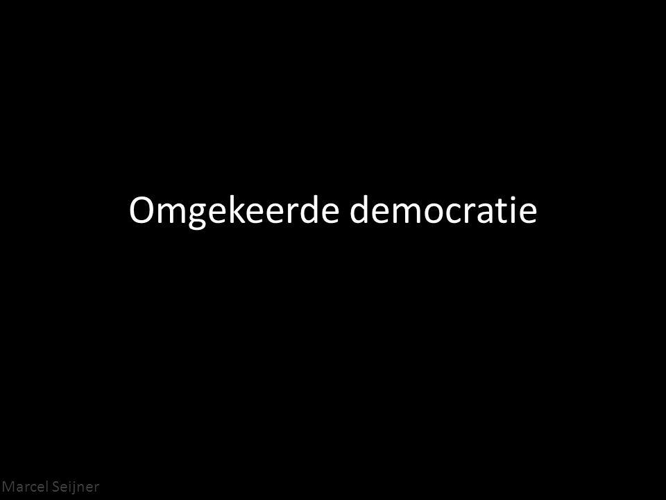 Omgekeerde democratie