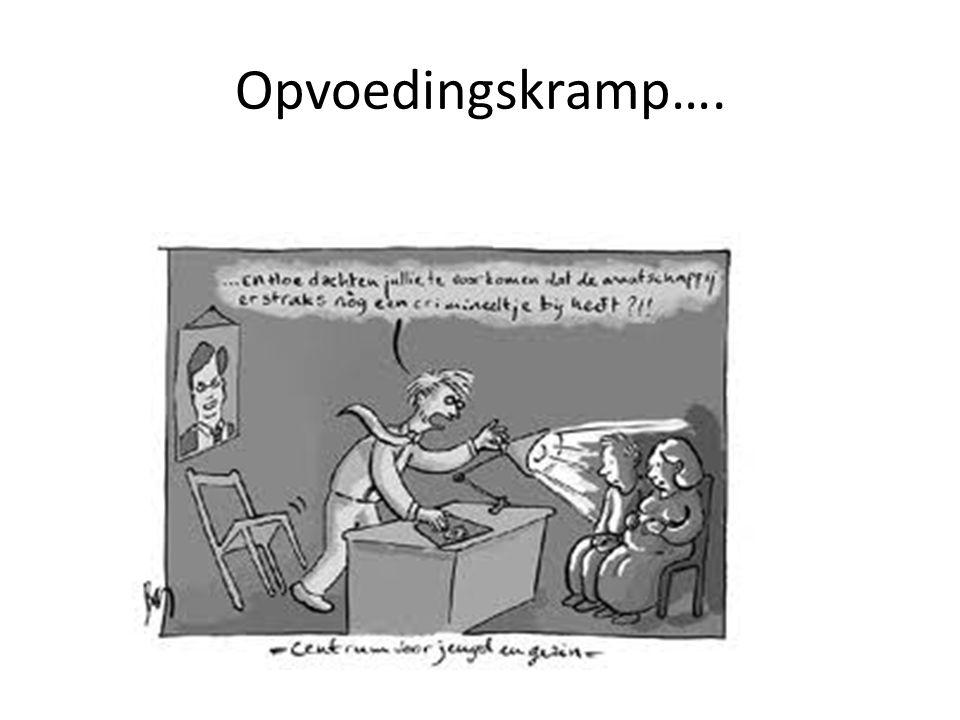 Opvoedingskramp….