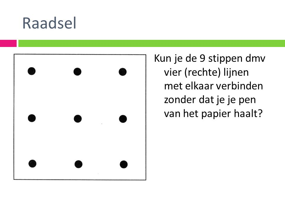 Out of the box: Raadsel I turn polar bears white Ik maak ijsberen wit And I will make you cry.