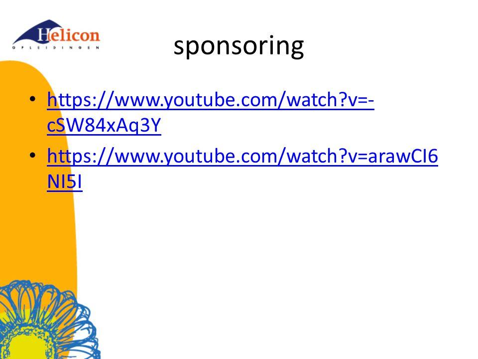 sponsoring https://www.youtube.com/watch?v=- cSW84xAq3Y https://www.youtube.com/watch?v=- cSW84xAq3Y https://www.youtube.com/watch?v=arawCI6 NI5I http