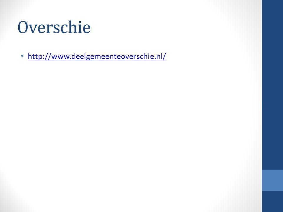 Overschie http://www.deelgemeenteoverschie.nl/