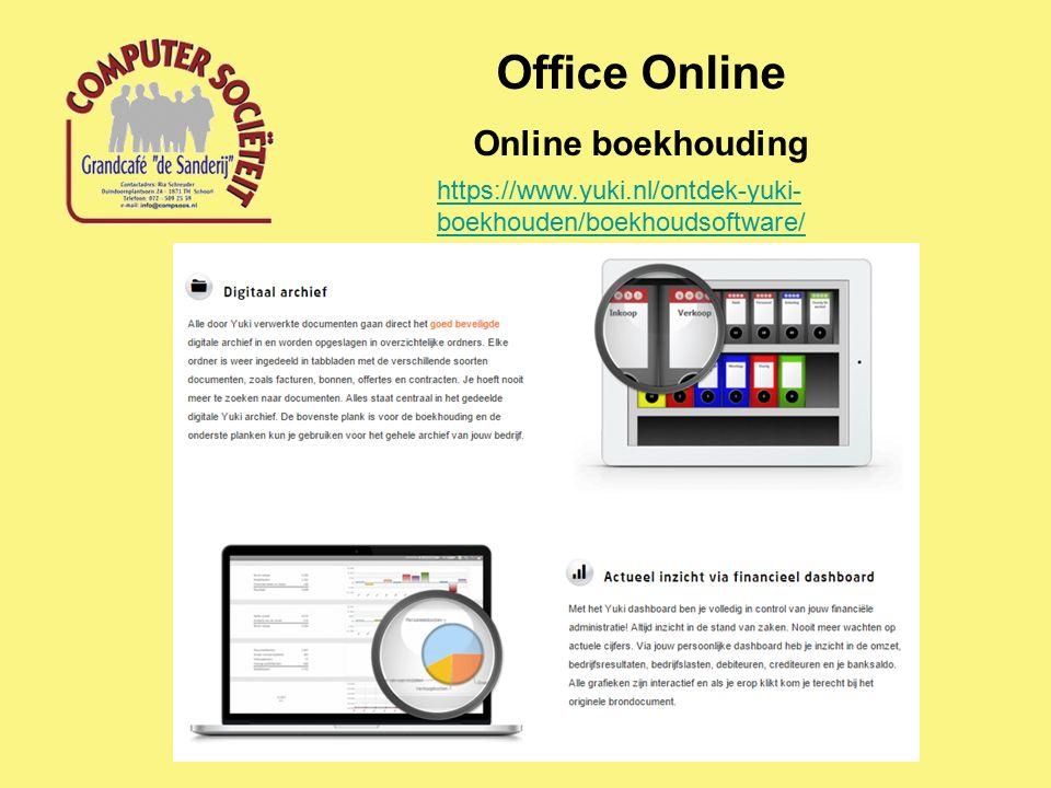 Office Online Online boekhouding https://www.yuki.nl/ontdek-yuki- boekhouden/boekhoudsoftware/