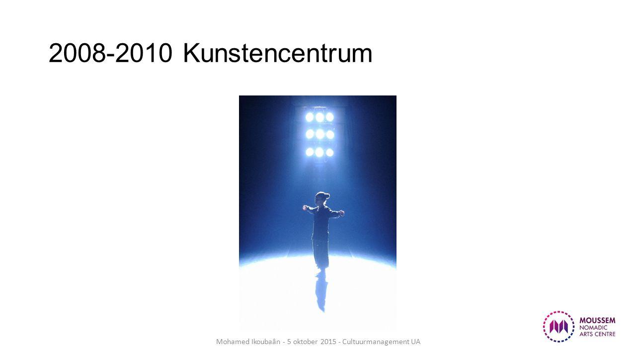 4. Publiekswerking Mohamed Ikoubaân - 5 oktober 2015 - Cultuurmanagement UA