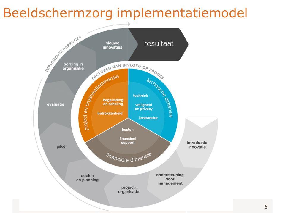 6 Beeldschermzorg implementatiemodel