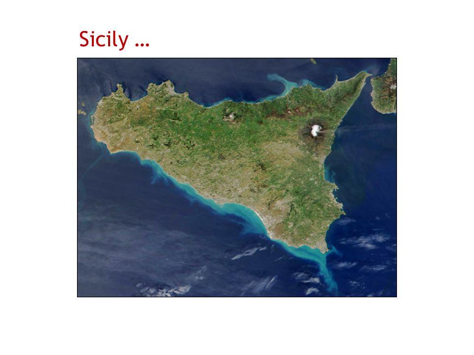 Sicily …