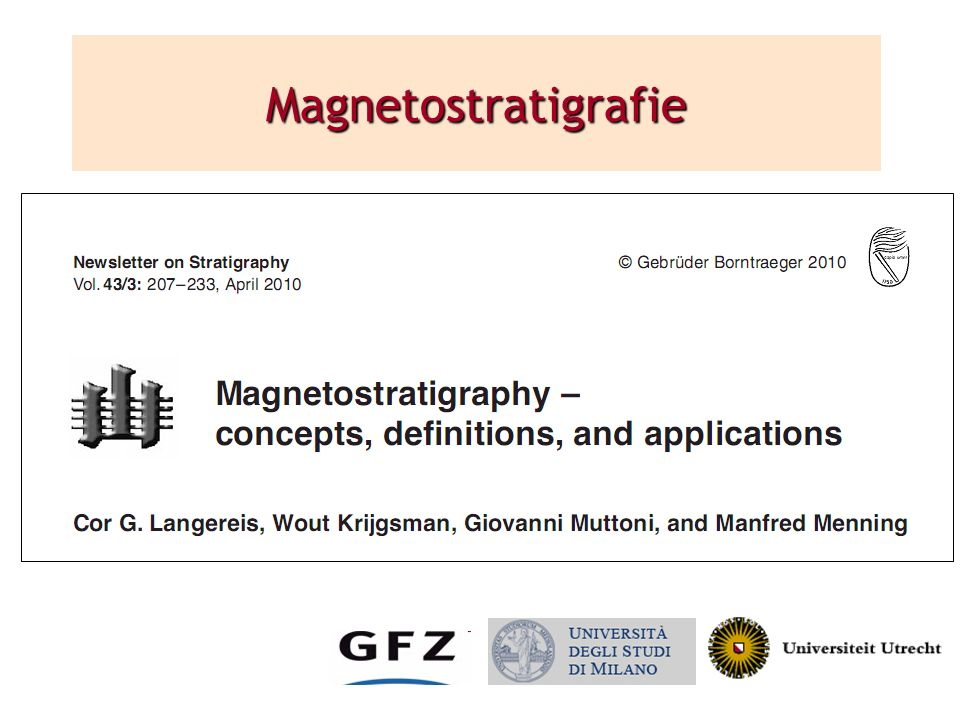 Magnetostratigrafie