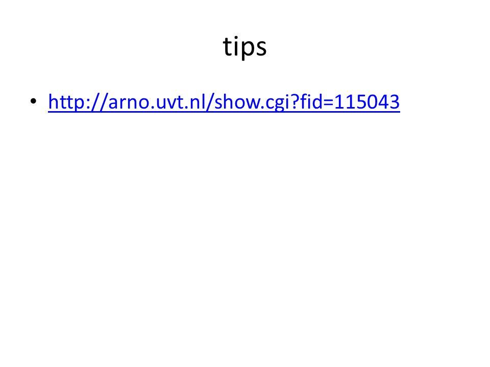 tips http://arno.uvt.nl/show.cgi?fid=115043