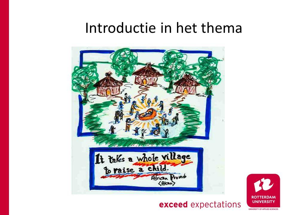 Werkcollege - kijkopdracht Kijk naar de volgende film over een Rotterdamse brede school http://www.youtube.com/watch?v=1nvufbKQXD4 Kijkopdracht aan de werkgroepjes:  Welke partijen zijn betrokken bij deze Brede School.