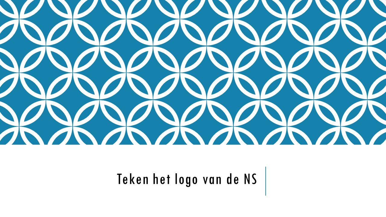 Teken het logo van de NS