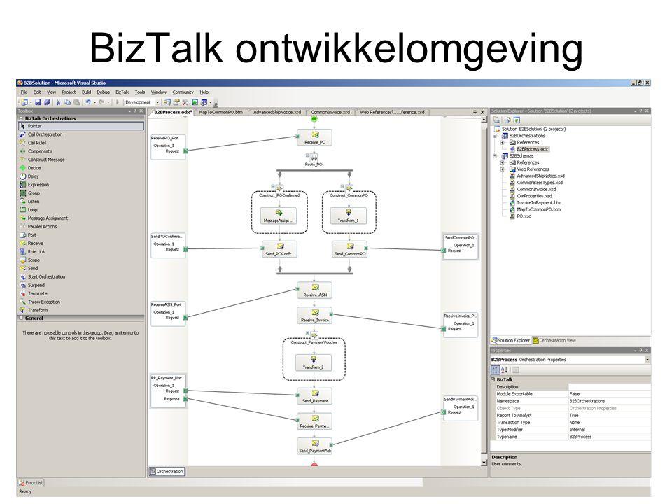 BizTalk ontwikkelomgeving