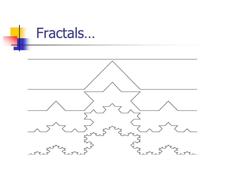Fractals…