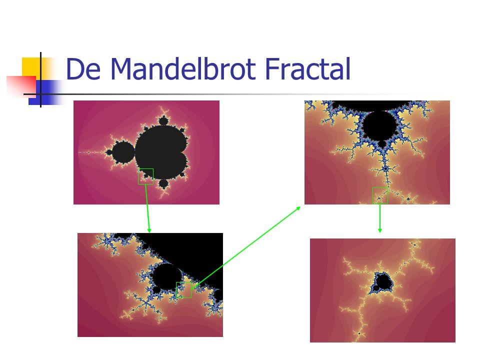 De Mandelbrot Fractal