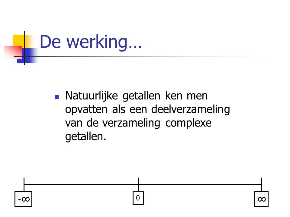 Divide & Conquer Complexiteitsontwikkeling?