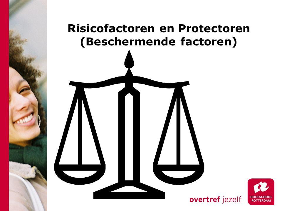 Risicofactoren en Protectoren (Beschermende factoren)