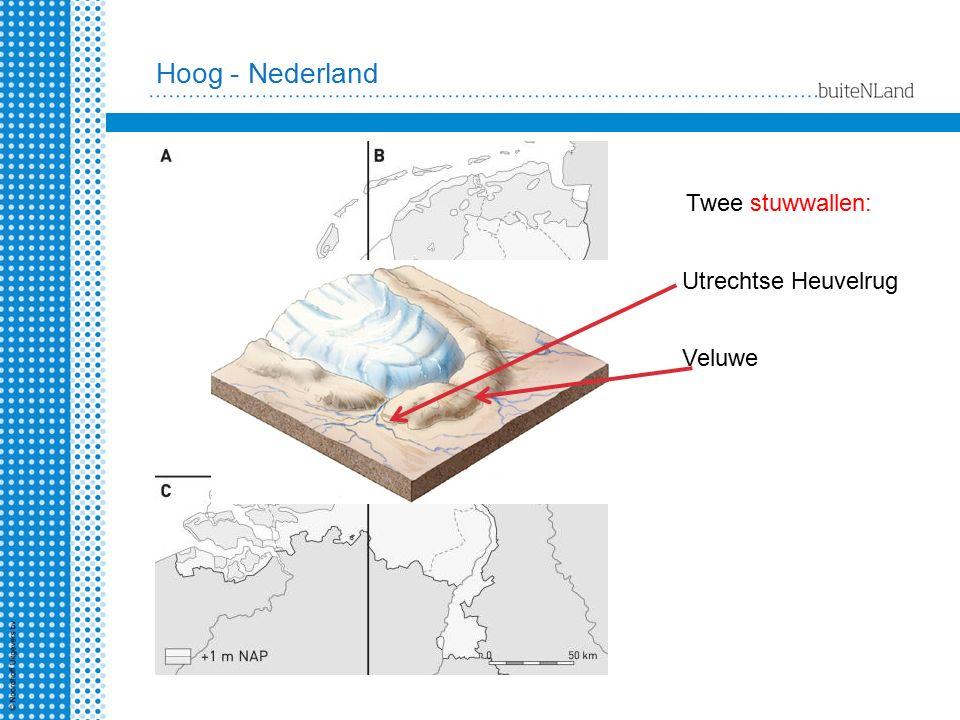 Twee stuwwallen: Utrechtse Heuvelrug Veluwe Hoog - Nederland