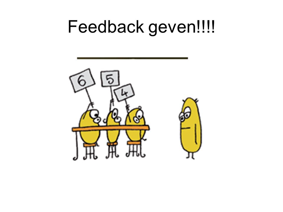 Feedback geven!!!!