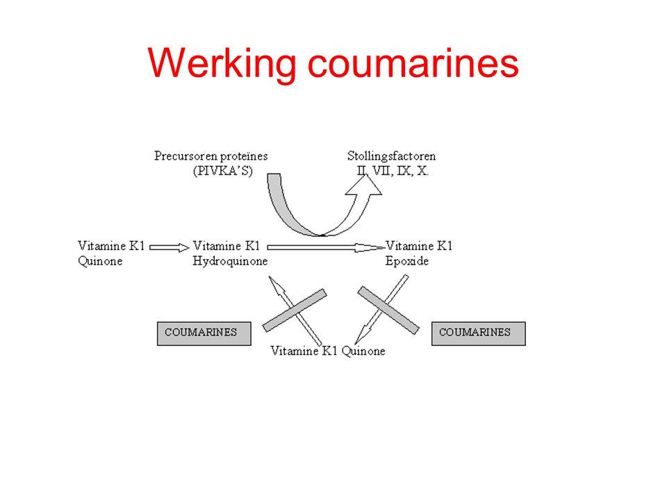 Werking coumarines