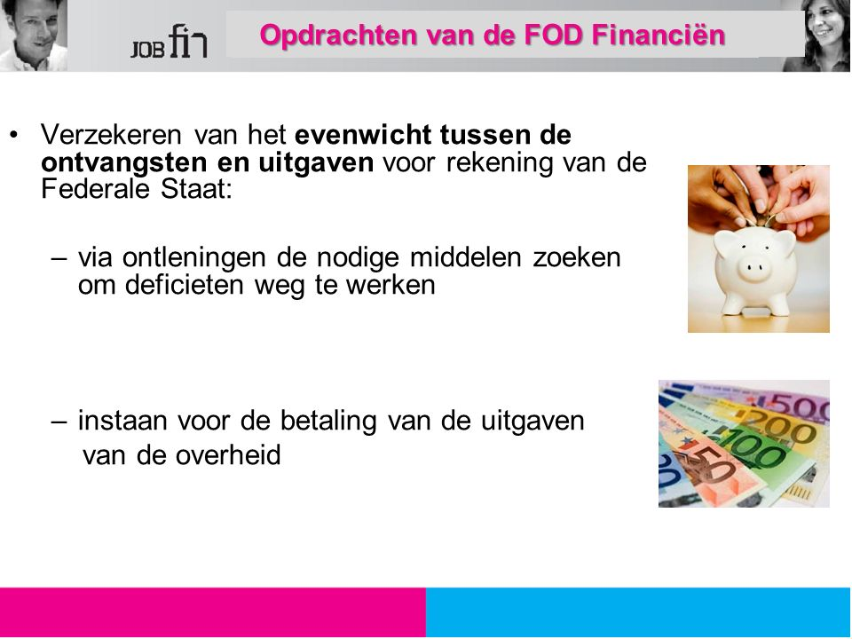 De FOD Financiën wil een goede werk/privé - balans mogelijk maken voor zijn medewerkers door steeds meer flexibiliteit aan te bieden via een systeem van variabele arbeid.