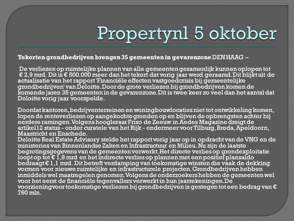 56 gemeenten met minimaal 56.000 inwoners Grote gemeenten >75.000 inwoners Middel grote gemeenten 50.000-75.000 inwoners Helft van gemeenten vastgoedactiviteiten (beheer en bezit) niet gecentraliseerd in één vastgoedorganisatie.