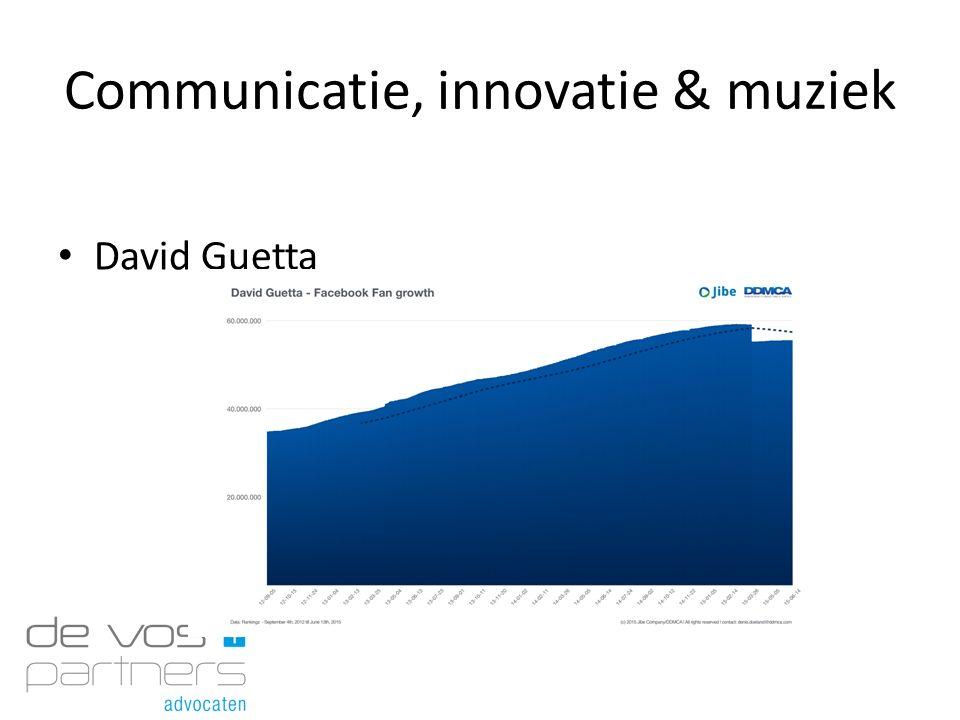 Communicatie, innovatie & muziek David Guetta